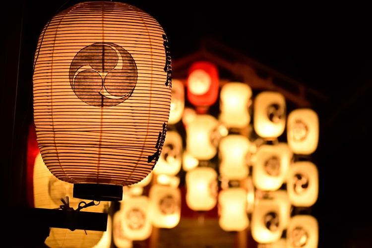 祇園祭の屋台出店